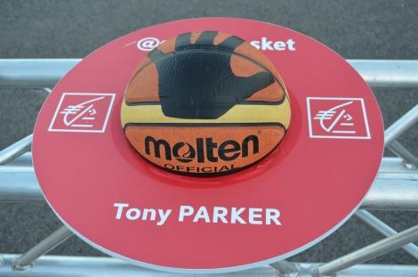 Former NBA Finals MVP, Tony Parker.