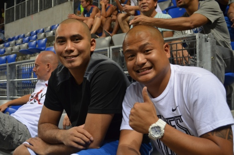 My favorite player from Gilas, Paul Lee.