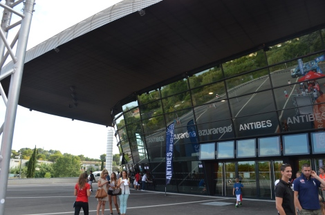 The Venue: Azur Arena