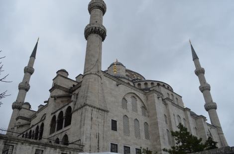 Blue Mosque in Istanbul, Turkey.
