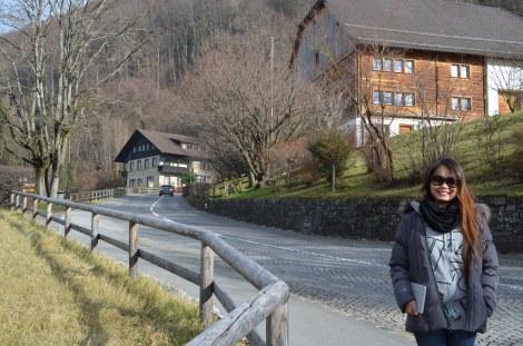 Exploring Liechtenstein.