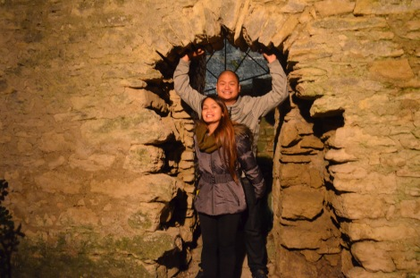 Exploring San Marino.